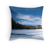 Stand Still Throw Pillow