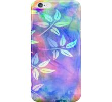 Colorful icy abstract iPhone Case/Skin
