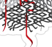 Cube Tree 0.01 Sticker