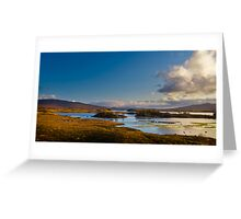 Rannoch Moor Greeting Card