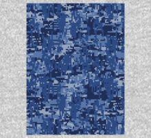 Navy Blue Digital Camo Kids Clothes