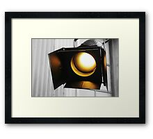 Stage Lights Framed Print