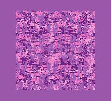 Pink Digital Camo by Garaga