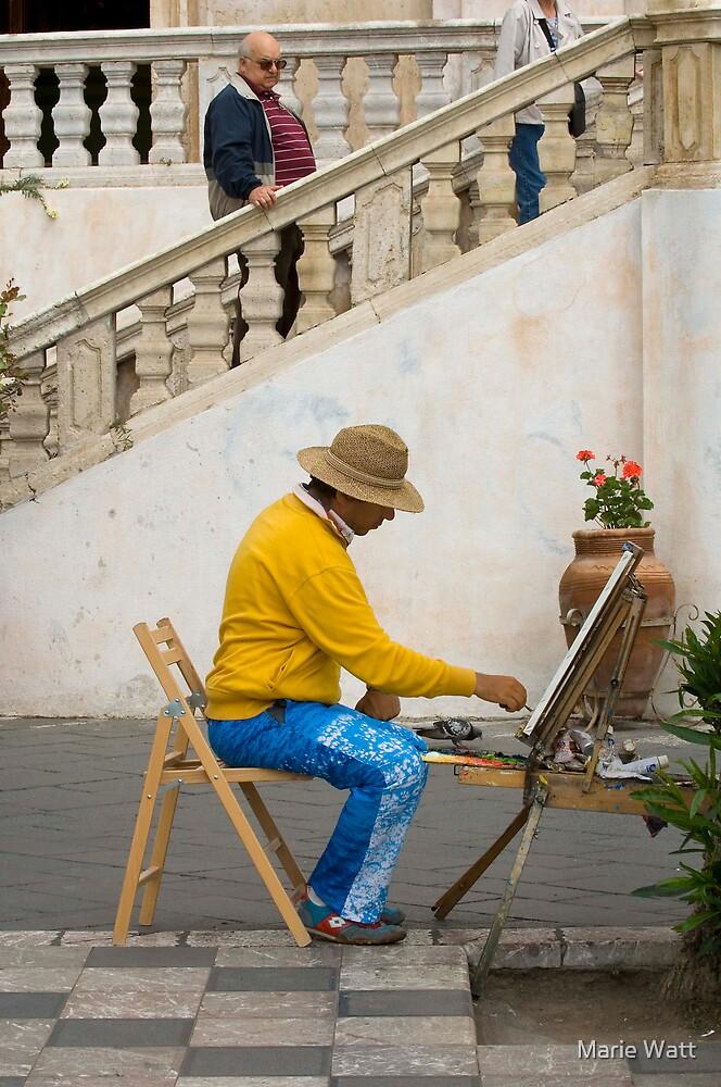 The Painter by Marie Watt