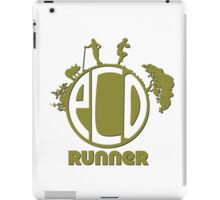 Ecology Runner iPad Case/Skin