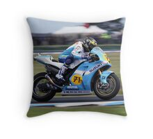 Chris Vermeulen, Phillip Island Motogp 2007 Throw Pillow