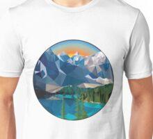 Polygon Mountain Unisex T-Shirt