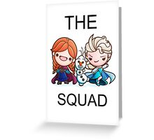The Frozen Squad Greeting Card