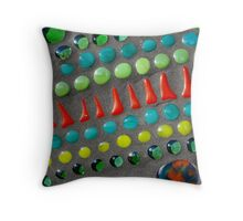Mixed Vegetables Throw Pillow