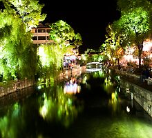 Lijiang River Night Scene by MiImages