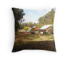 Cottages at Nannup Throw Pillow