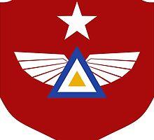 Emblem of Myanmar Air Force by abbeyz71