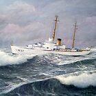 U. S. Coast Guard Cutter Taney by cgret82