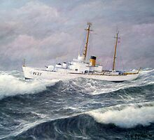 U. S. Coast Guard Cutter Taney by William H. RaVell III
