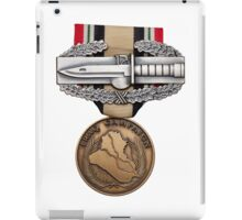 OIF Combat Action Badge iPad Case/Skin