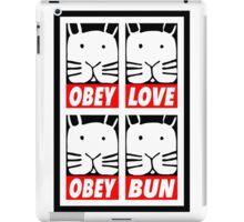 Obey Love Obey Bun iPad Case/Skin