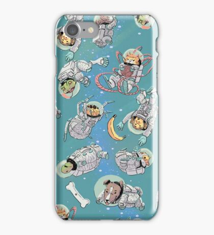 Space Critters iPhone Case/Skin
