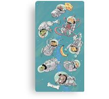 Space Critters Canvas Print