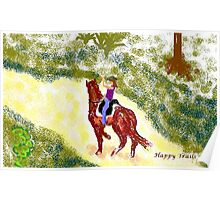 Happy Trails Poster