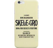 Skele-Gro Label iPhone Case/Skin