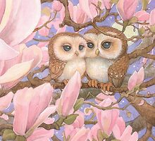 Love Owls by JamesBrowneArt