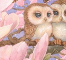 Love Owls Sticker