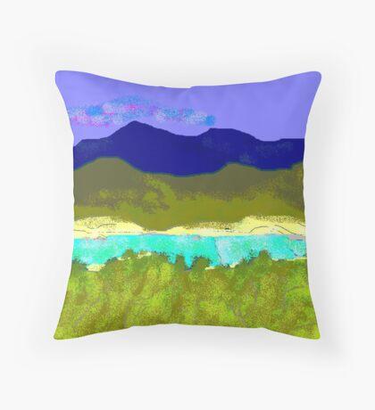 Medina River Throw Pillow