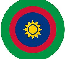Roundel of the Namibian Air Force by abbeyz71