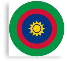 Roundel of the Namibian Air Force Canvas Print
