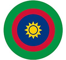 Roundel of the Namibian Air Force Photographic Print