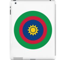 Roundel of the Namibian Air Force iPad Case/Skin