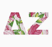 ΔΖ- Delta Zeta Lily print by worldofcupcakes