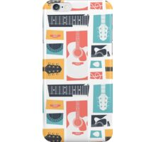 Guitar Collage iPhone Case/Skin