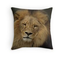 The King - Melbourne Zoo Throw Pillow