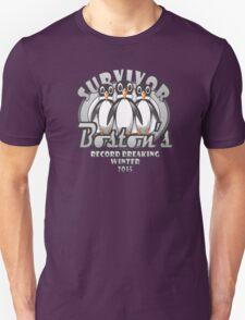 Survivor Boston's Record Breaking Winter 2015 Unisex T-Shirt