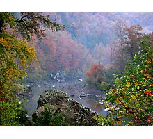 Rainy Days On The Mulberry River Photographic Print