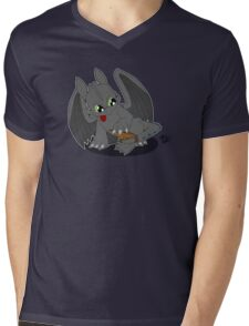 Toothless' new Tail Mens V-Neck T-Shirt