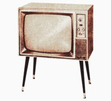 Stylish Retro Television (from the Vintage Magazine series) by gshapley