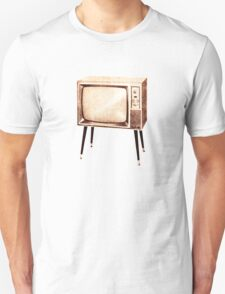 Stylish Retro Television (from the Vintage Magazine series) T-Shirt