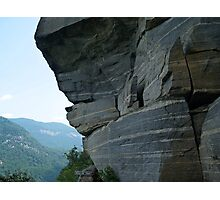 Wild Cat Trap Rock Formation, NC Photographic Print