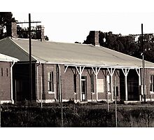 Abandoned Victorian Train Station Photographic Print
