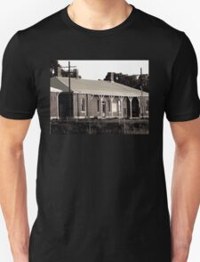Abandoned Victorian Train Station Unisex T-Shirt