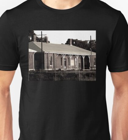 Abandoned Victorian Train Station Unisex T-Shirt