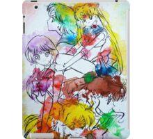 Sailor Scout Splash iPad Case/Skin