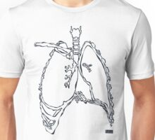 X-ray: Lung Unisex T-Shirt