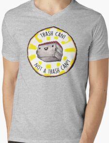 Trash Can! Mens V-Neck T-Shirt