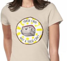 Trash Can! Womens Fitted T-Shirt