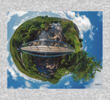 Footbridge over Glen River, Carrick, SW Donegal One Piece - Long Sleeve