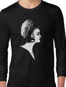 Girl on the F Train Long Sleeve T-Shirt