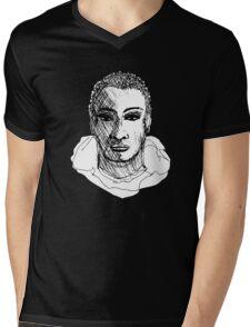 Man of the A train Mens V-Neck T-Shirt